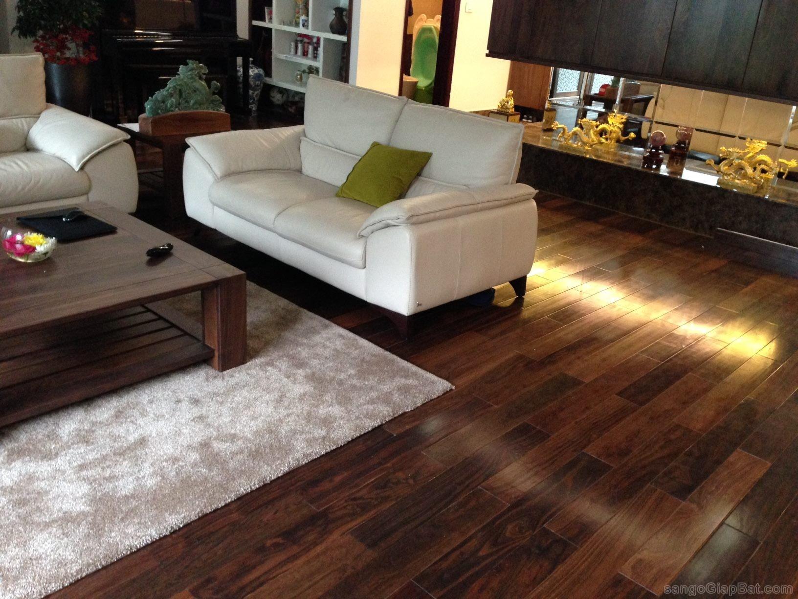 sàn gỗ chiu liu tại hà nội