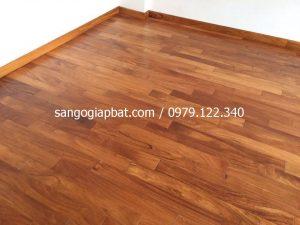 Sàn gỗ Gõ Đỏ (15x90x750mm)