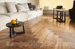 Sàn gỗ Óc Chó (15x90x600mm)