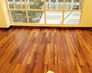 Sàn gỗ Teak Lào (15x90x900mm)