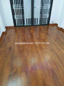 Thi công sàn gỗ Căm Xe Lào tại Hoàng Văn Thái Thanh Xuân