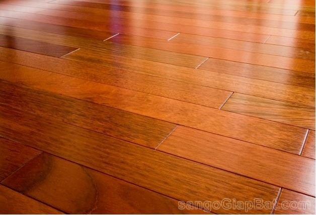 Brazilian cherry hardwood floor