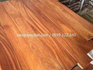 Sàn gỗ Gõ Đỏ (15x90x900mm)