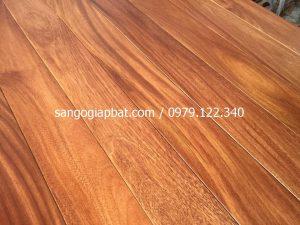 Sàn gỗ Gõ Đỏ (18x120x900mm)