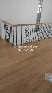 Thi công sàn gỗ Sồi tại Khu đô thị Ecopark Hưng Yên