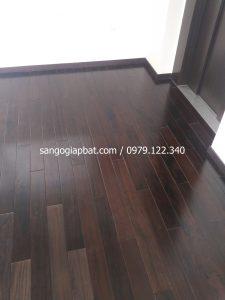 Thi công sàn gỗ Chiu Liu tại Khu biệt thự Himlam Tư Đình Long Biên