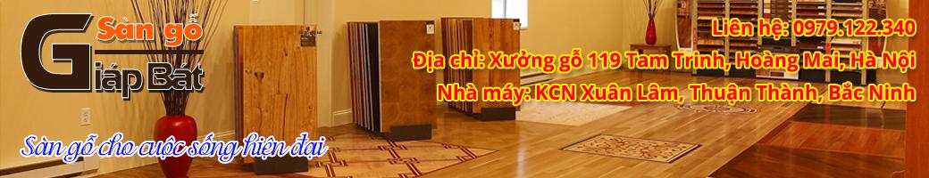 Sàn gỗ giáp bát